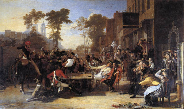 Chelsea Pensioners Reading the Waterloo Dispatch by Sir David Wilkie