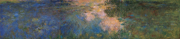 The Water Lilies Pond by French Impressionist Painter Claude Monet