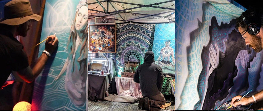 Visionary Artist Danny Stephens Featured by Third Eye Tapestries