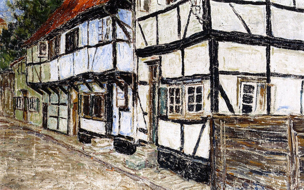 Half Timbered Houses Christian Rohlfs (1905)
