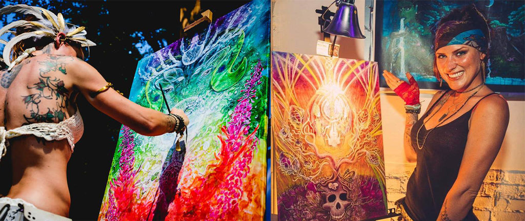 Third Eye Tapestries Featured Artist Wrenna Monet