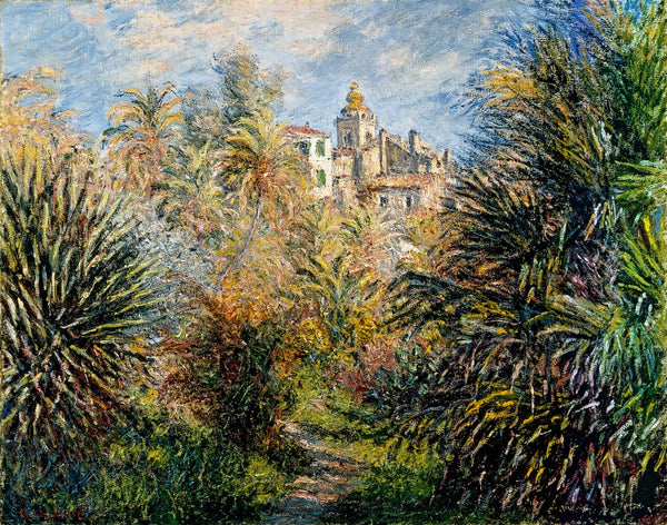 The Moreno Garden at Bordighera by Claude Monet