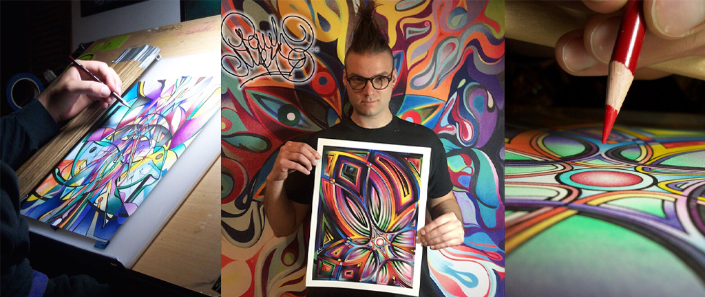 Featured Visionary Artist Paul Mez Collage