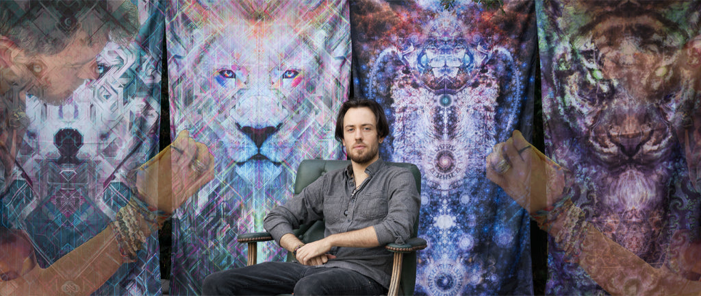 Soltice Son Featured Artist of Third Eye Tapestries