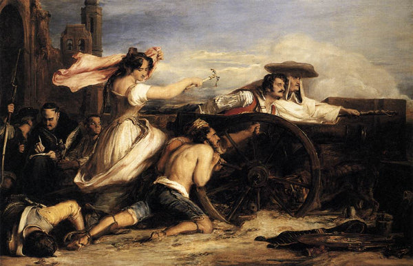 The Defence of Saragossa by Sir David Wilkie