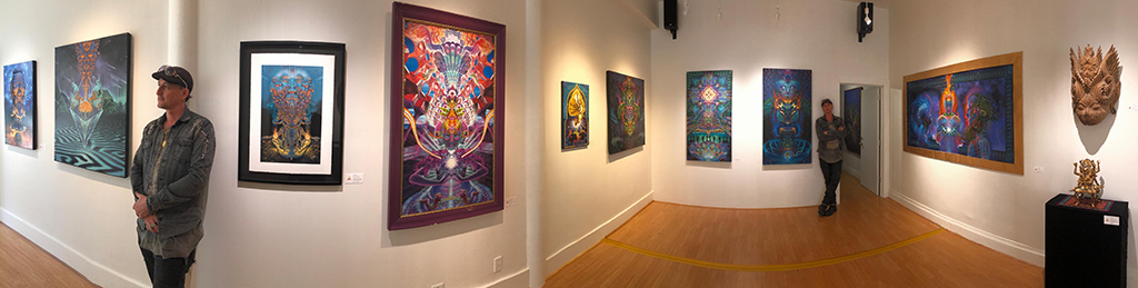 Visionary Artist Luke Brown Featured by Third Eye Tapestries