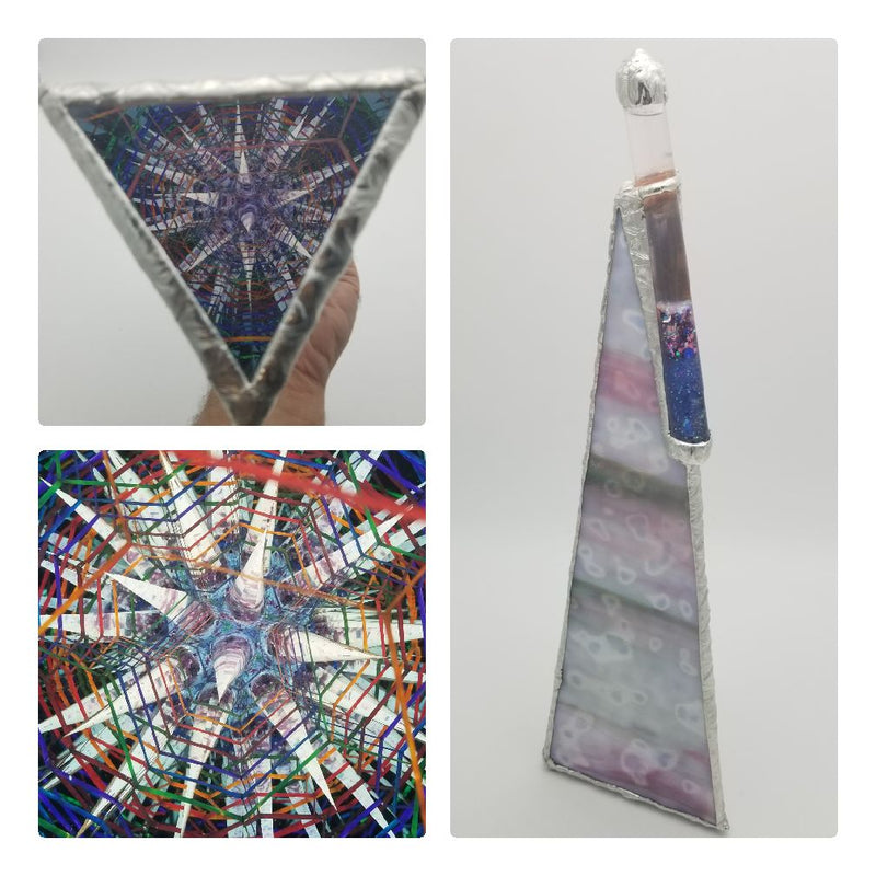 16 Inch Rainbow Star Kaleidoscope