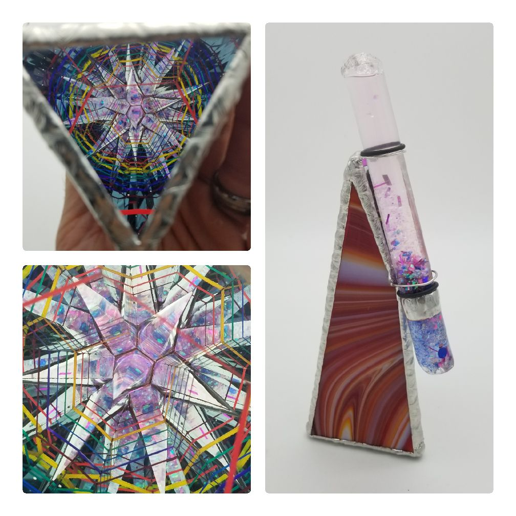 8 Inch Rainbow Star Kaleidoscope