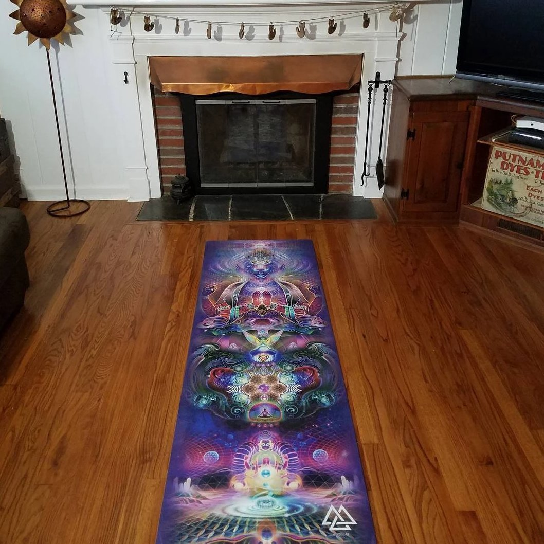 Sky Diamonds Yoga Mat
