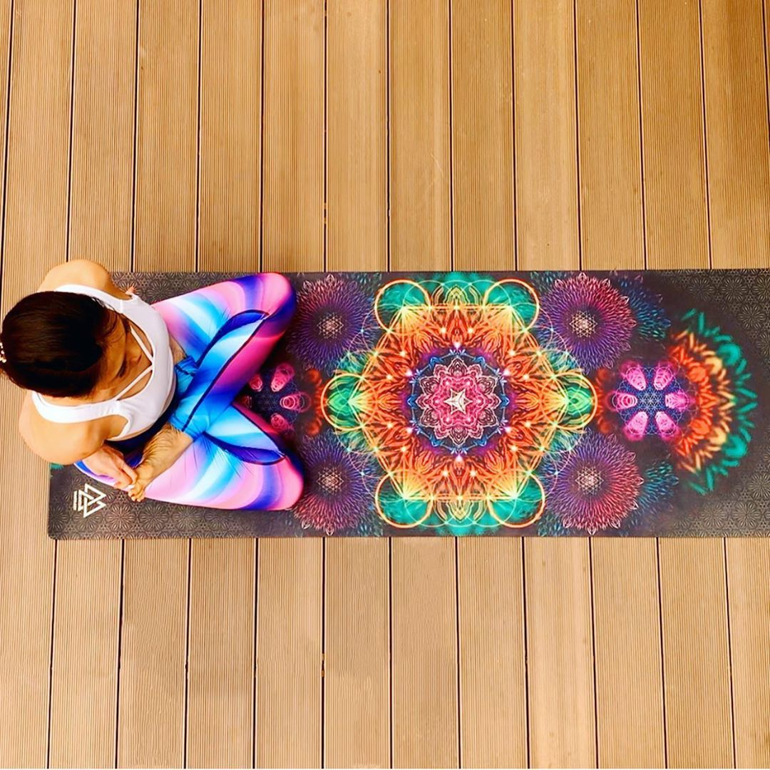 Geometric Yoga Mat