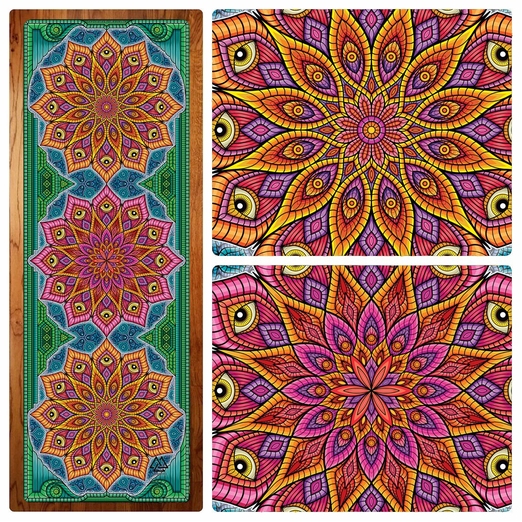 Mandala Magic Yoga Mat