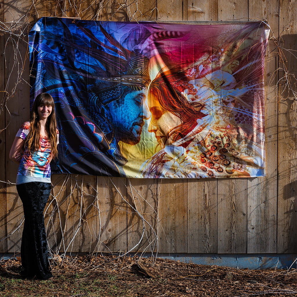 Union Third Eye Tapestries