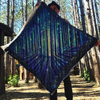 Visionary Artist Dela Electric Forest Tapestry by Third Eye Tapestries