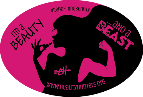 Beauty & A Beast Bumper Sticker