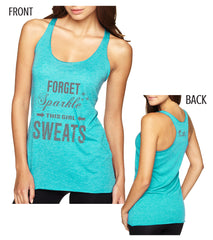 This Girl Sweats - Vintage Tank (Blue or Black)