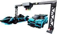 76898 Formula E Panasonic Jaguar Racing GEN2 car & Jaguar I-Pace eTrophy - New sealed in box