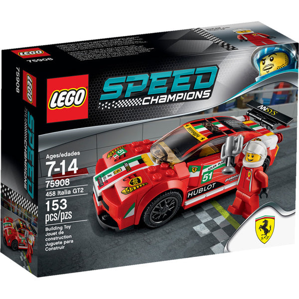 75908 Speed Champions 458 Italia GT2 - New sealed in box