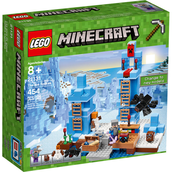 21131 Minecraft The Ice Spikes - New sealed in box