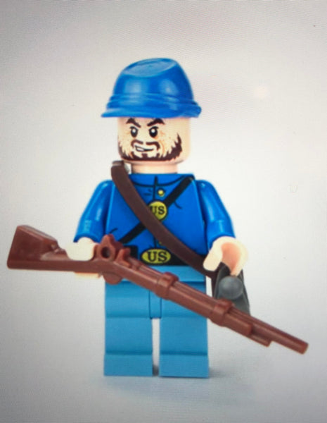 Union Soldier - Battle Brick Customs