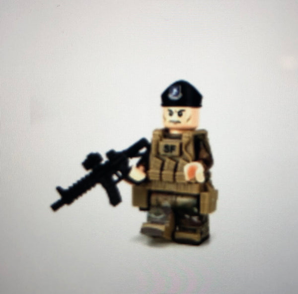 Air Force Security Forces Airman - Battle Brick Customs