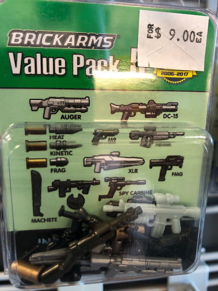Value Pack 5 - Brickarms