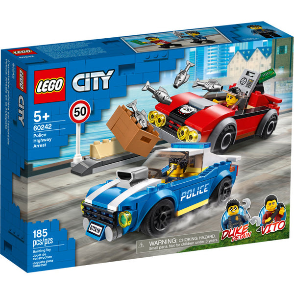 60242 Police Highway Arrest - New sealed in box
