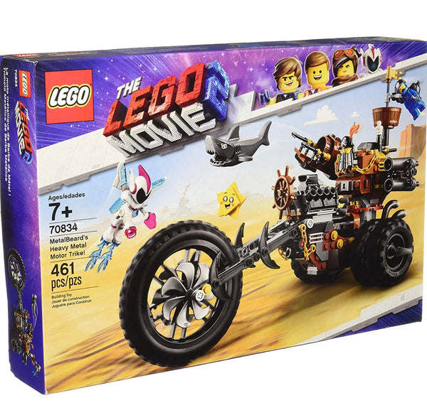 70834 MetalBeard's Motor Trike! - New sealed in box