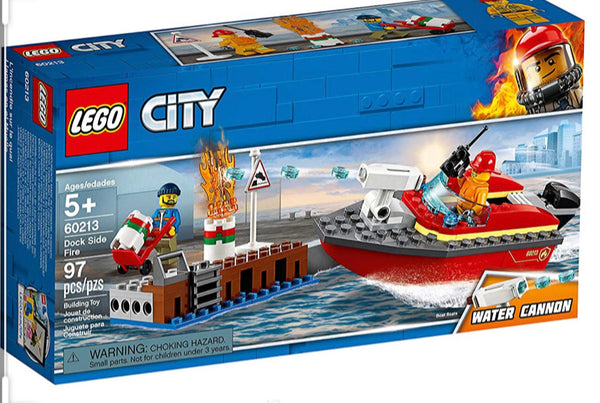 60213 Dock Side Fire - New sealed in box