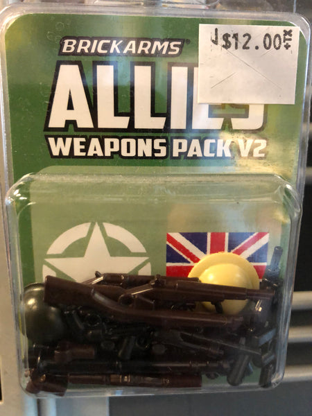 Allies Weapons Pack - Brickarms