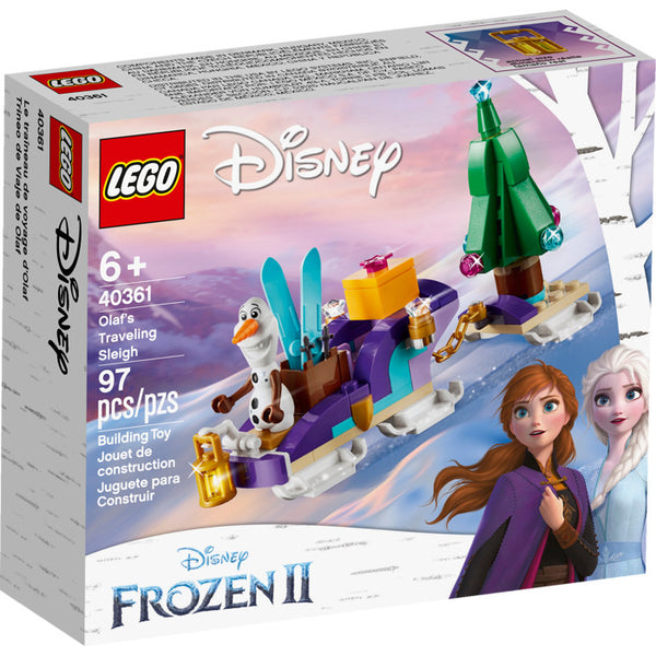 40361 Disney Olaf's Traveling Sleigh - New sealed in box