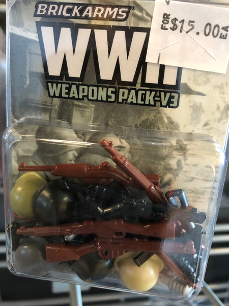 WWII Weapons Pack - Brickarms