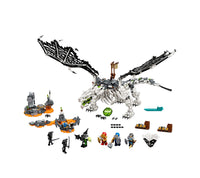 71721 skull Sorcerers Dragon - New in box set