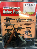 Value Pack 4 - Brickarms