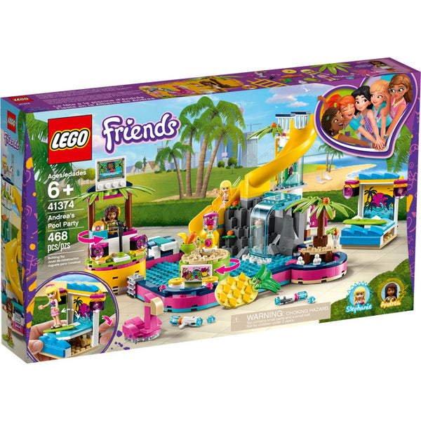 41374 Friends Andrea's Pool Party - New sealed in box