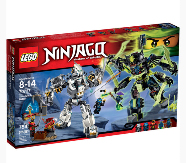 70737 Ninjago Titan Mech Battle  - New in box set
