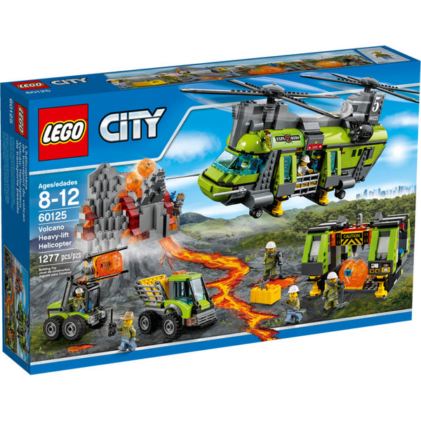 60125 Volcano Heavy Lift Helicopter - New sealed in box