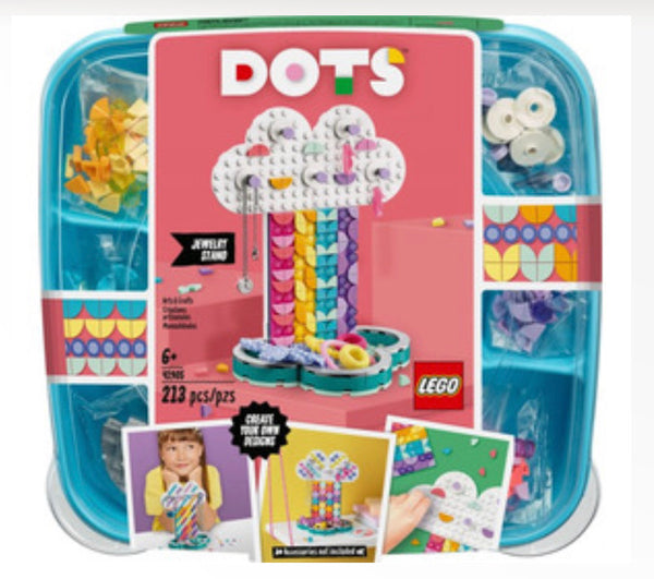 41905 Dots Rainbow Jewelry Stand - New sealed in box