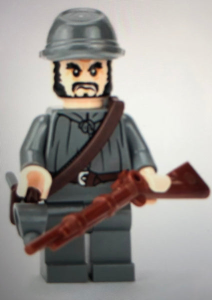 Confederate Soldier - Battle Brick Customs
