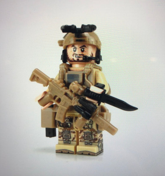 Seal Team 6 Special Forces - Battle Brick Customs