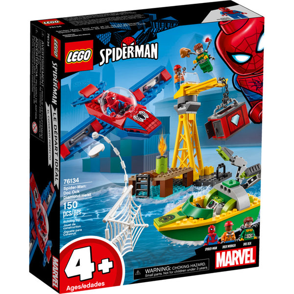 76134 Super Heroes Spyder-Man: Doc Ock Diamond Heist - New in box set
