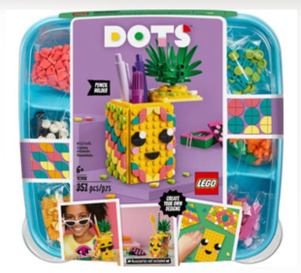 41906 Dots Pencil Holder Set - New sealed in box