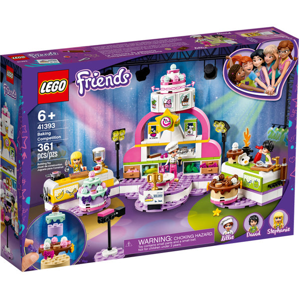 41393 Friends Baking Competition - New sealed in box