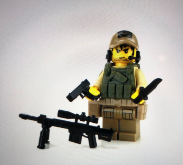 Special Forces Army Sniper value - Battle Brick Customs