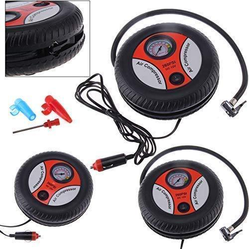 PORTABLE ELECTRIC AIR COMPRESSOR PUMP FOR CAR & BIKE