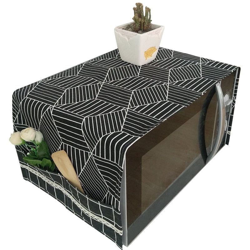 Microwave Dust Cover - premierekitchenhelpers
