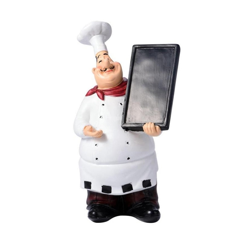 Retro Mini Chef Figurine - premierekitchenhelpers