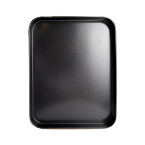 Baking Tray, Carbon Steel, Non-Stick, Use For Cookies, Sheet Cake, Biscuits. - premierekitchenhelpers