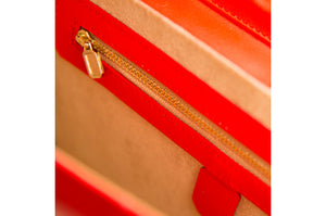 "Cartera ""New Shallow Red"""