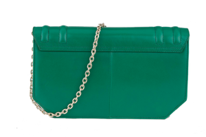 "Cartera ""New Shallow Green"""