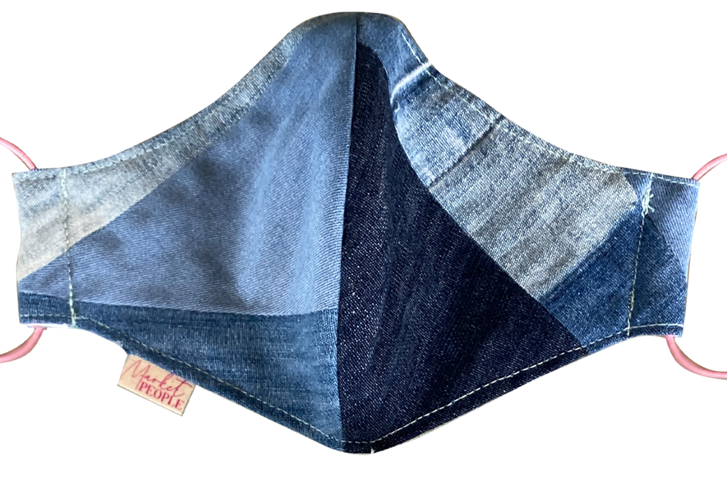 Mascarillas Denim Reciclado